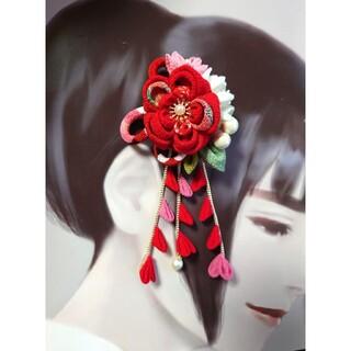 髪飾り コサージュ 2wayタイプ(ヘアアクセサリー)
