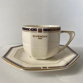 ジバンシィ(GIVENCHY)のカップ、ソーサー(4つ)(グラス/カップ)