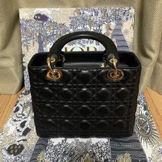 Christian Dior - DIOR LADY DIOR ミディアムバッグ レディディオール