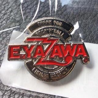 ヤザワコーポレーション(Yazawa)の矢沢永吉 E.YAZAWA ピンバッジ ロゴ サークル(ミュージシャン)