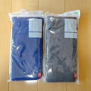 UNIQLO - 【新品未開封】ユニクロ レギンスパンツ ベビー 90サイズ 2色セット