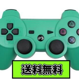 PS3 コントローラー グリーン Green 緑色 Bluetooth 互換品(その他)
