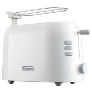 デロンギ(DeLonghi)のデロンギ トゥルー ポップアップトースター TTP220J-WH(調理機器)