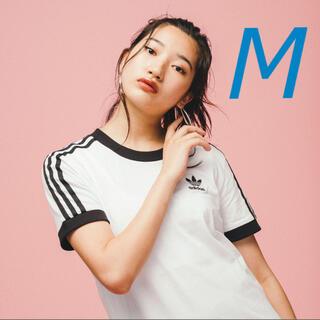 アディダス(adidas)の新品 adidas 3ストライプスTシャツ Mサイズ(Tシャツ(半袖/袖なし))