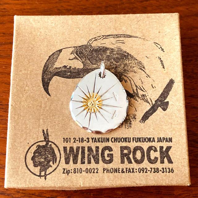 goro's(ゴローズ)のWINGROCK ウイングロック 16本彫 タタキ P-6A メンズのアクセサリー(ネックレス)の商品写真