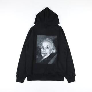 sacai - sacai アインシュタイン フーディ ブラック