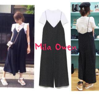 Mila Owen - Mila Owen Tシャツ付オールインワン サロペット TODAYFUL 好き