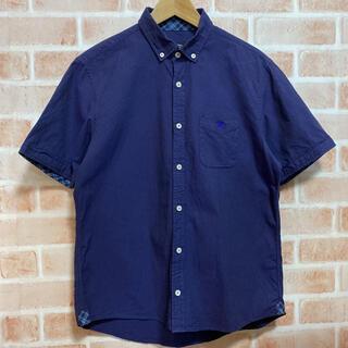 BURBERRY BLACK LABEL - バーバリー ブラックレーベル メンズ半袖シャツ