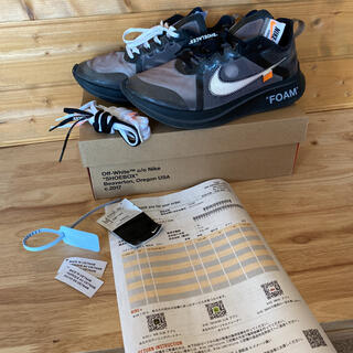 OFF-WHITE - OFF-WHITE THE TEN NIKE ZOOMFLY