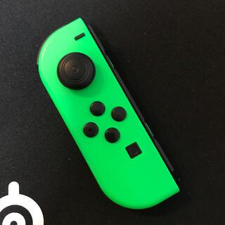 ニンテンドースイッチ(Nintendo Switch)の【ジャンク品】Joy-Con 左 グリーン(その他)