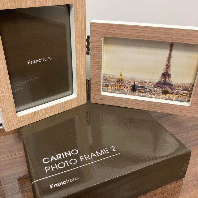 Francfranc(フランフラン)の週末限定値下げfranc franc写真立て新品箱入り✨フォトフレーム✨オシャレ インテリア/住まい/日用品のインテリア小物(フォトフレーム)の商品写真