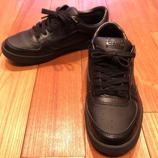 VANS - VANS スニーカーV4410 黒色 24.5㎝  靴