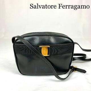 Salvatore Ferragamo - Salvatore Ferragamo ヴァラ レザー ショルダーバッグ