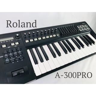 ローランド(Roland)のRoland MIDIキーボードコントローラー A-300PRO-R 32鍵(MIDIコントローラー)