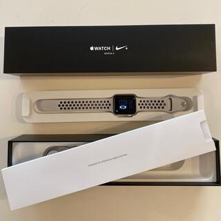 Apple Watch - Apple watch series 3 Nike+ 42mm  GPSシルバー