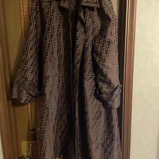 フェンディ(FENDI)のFENDI フェンディ ズッカ柄 春 コート 売り切り価格(ロングコート)