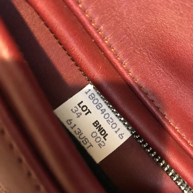 schott(ショット)のschott(ショット) ダブルライダースジャケット 赤 [値段交渉あり!] メンズのジャケット/アウター(ライダースジャケット)の商品写真