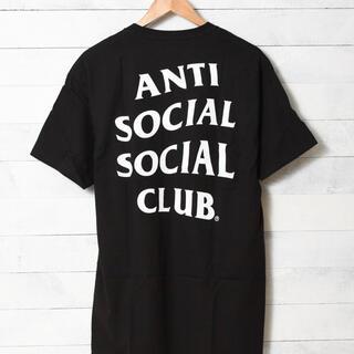 アンチ(ANTI)のANTI SOCIAL SOCIAL CLUB Logo Tee 2 Black(Tシャツ/カットソー(半袖/袖なし))