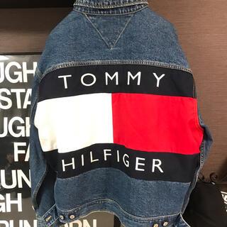 トミー(TOMMY)の希少90s★tommy big flag  denim jacket(Gジャン/デニムジャケット)