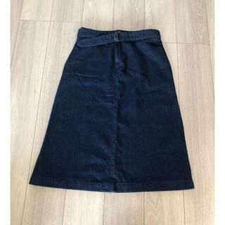 スタディオクリップ(STUDIO CLIP)のスタディオクリップ   デニムスカート(ひざ丈スカート)