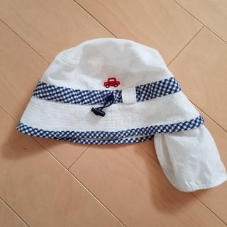 mikihouse - ミキハウス 日除けカバー付き帽子