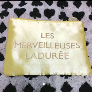 レメルヴェイユーズラデュレ(Les Merveilleuses LADUREE)の限定◆レ メルヴェイユーズ ラデュレ◆ポーチ(ポーチ)