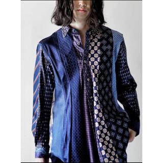 イサムカタヤマバックラッシュ(ISAMUKATAYAMA BACKLASH)の新品!!(定価75900)バックラッシュ BACKLASH・リメイクシャツ(シャツ)