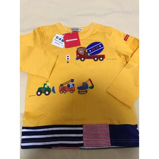 mikihouse - ミキハウス プッチー働く車ロングtシャツ 新品タグ付き 90