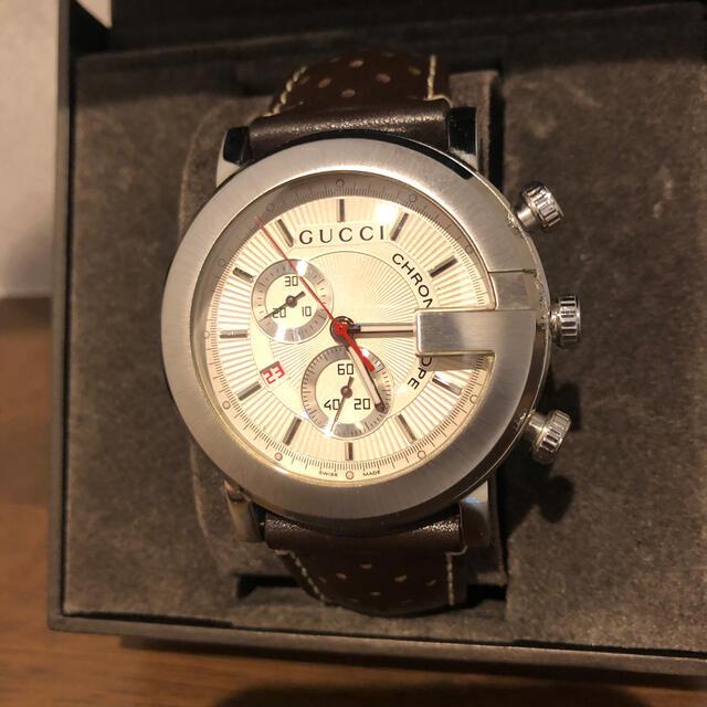 Gucci(グッチ)のGUCCI  腕時計 クロノグラフ メンズの時計(腕時計(アナログ))の商品写真