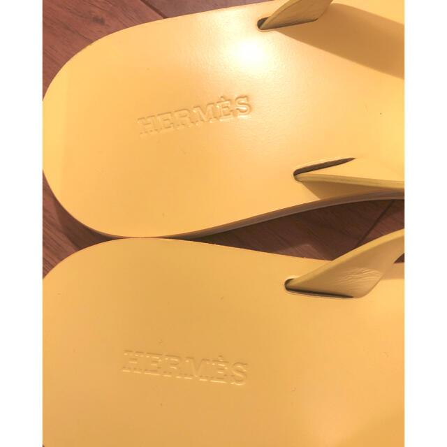 Hermes(エルメス)の◆美品◆エルメス レザー ビーチサンダル 36 レディースの靴/シューズ(ビーチサンダル)の商品写真