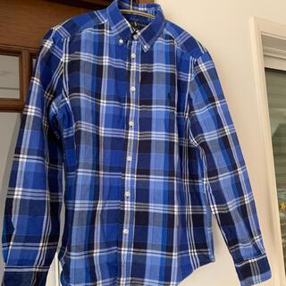 Ralph Lauren - ラルフローレン ブルーシャツ 160サイズ