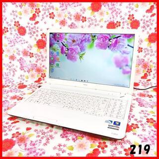 エヌイーシー(NEC)のNEC白PC♪Corei5♪新品SSD♪ノートパソコン本体♪Windows10 (ノートPC)