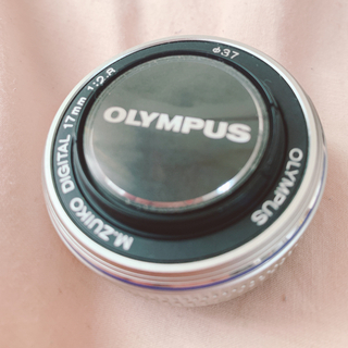 OLYMPUS - 【最終値下げ】パンケーキレンズ