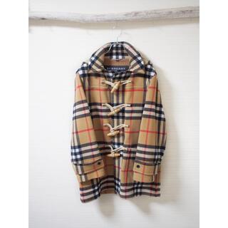 バーバリー(BURBERRY)の【Burberry×Gosha】Nova check Duffle-coat(ダッフルコート)
