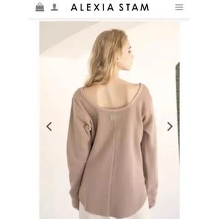 ALEXIA STAM - ALEXIA STAM ワッフルトップス