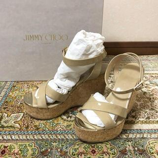 JIMMY CHOO - 美品 Jimmy Choo パテントサンダル
