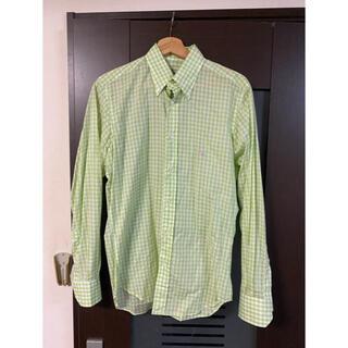 エトロ(ETRO)の定価4万以上 ETRO ギンガムチェック ドレスシャツ!エトロ(シャツ)