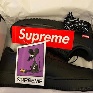 Supreme - Supreme Nike Air Force1 Black 28.5