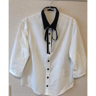 ミルクボーイ(MILKBOY)のMILK BOY リボン付きシャツ(Tシャツ/カットソー(七分/長袖))