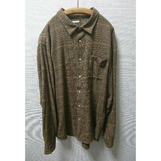 GU - ジーユー/GU オーバーシルエットグレンチェックシャツ