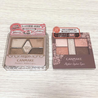 CANMAKE - 新品♡CANMAKE スタイリストアイズ 02、22