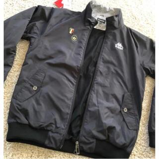 カッパ(Kappa)のKappa GOLF ウインド ジャケット ブラック L  ゴルフ (ウエア)