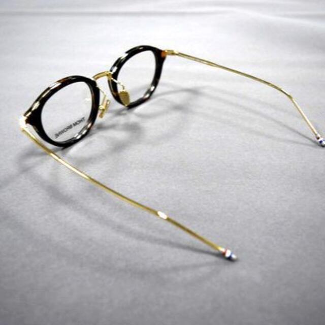 THOM BROWNE(トムブラウン)のTHOM BROWNE トムブラウン TB-011 鼈甲 46メガネ サングラス メンズのファッション小物(サングラス/メガネ)の商品写真