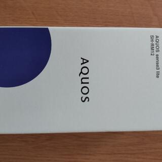 AQUOS - AQUOS sense3 lite SH-RM12