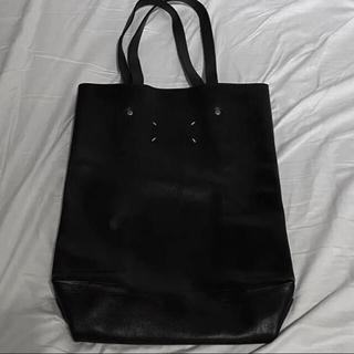 マルタンマルジェラ(Maison Martin Margiela)のMaison Margiela leather tote bag トートバッグ(トートバッグ)