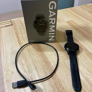 ガーミン(GARMIN)のGARMIN FENIX5 日本語版(腕時計(デジタル))