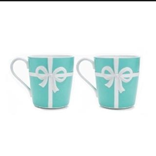 Tiffany & Co. - ティファニー マグカップ ブルーリボン