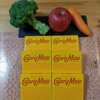 大塚製薬 - カロリーメイトブロック  チョコレート味  4本入り×6箱