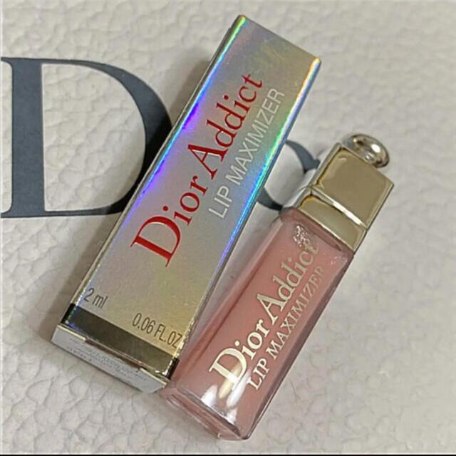 Christian Dior(クリスチャンディオール)の❤️ディオール リップ マキシマイザー  ミニサイズ 001 ピンク 箱付き コスメ/美容のベースメイク/化粧品(リップグロス)の商品写真