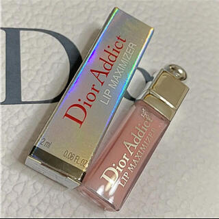 Christian Dior - ❤️ディオール リップ マキシマイザー  ミニサイズ 001 ピンク 箱付き